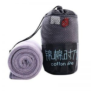 VORCOOL Microfiber Sports Towel Cooling Fitness Towel Outdoor Quick Dry Travel Towels for Running Camping Hiking Yoga Gym Golf with Storage Bag (Grey) de la marque VORCOOL image 0 produit